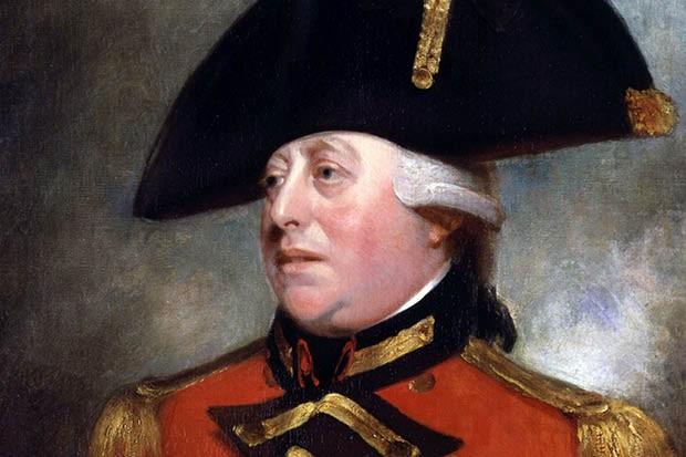 George III. (Image by Alamy)