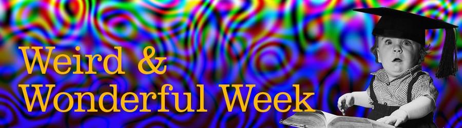 Weird and Wonderful WEEK banner