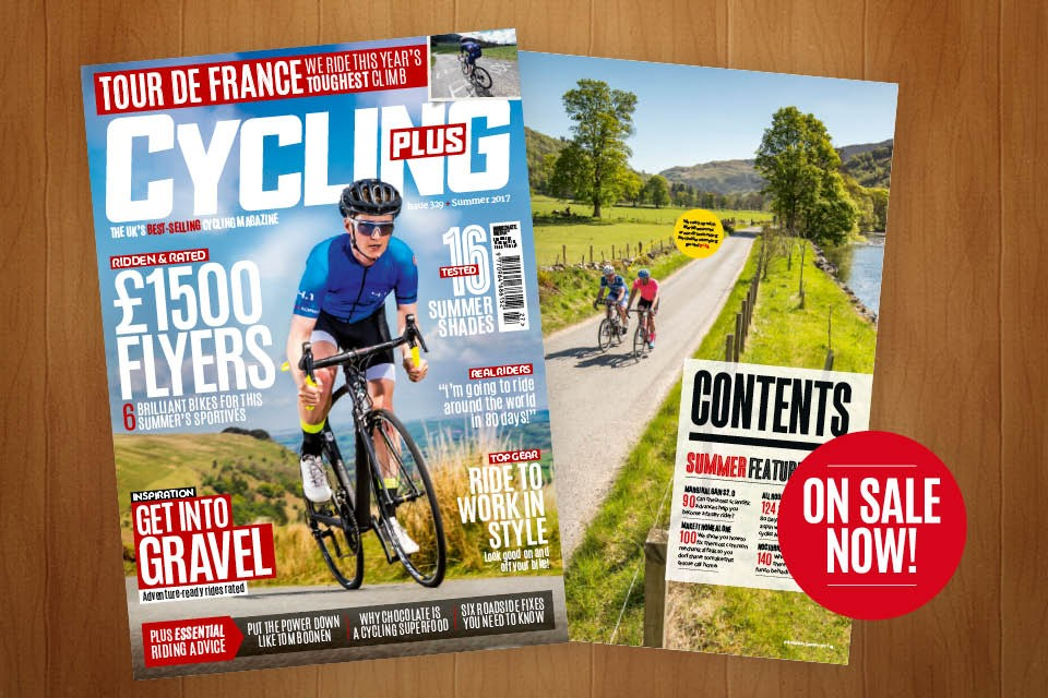 Cover of Cycling Plus Magazine Issue 329