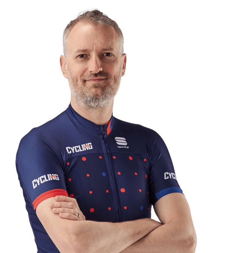 Rob Spedding editor-in-chief of Cycling Plus magazine