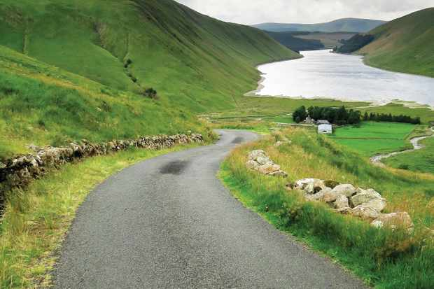 The beautiful Talla Cycling Climb