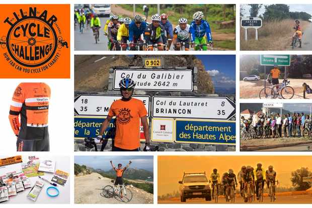 International Cyclists Collage