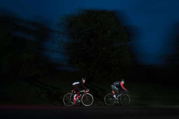 Red Bull TimeLaps riders in the dark