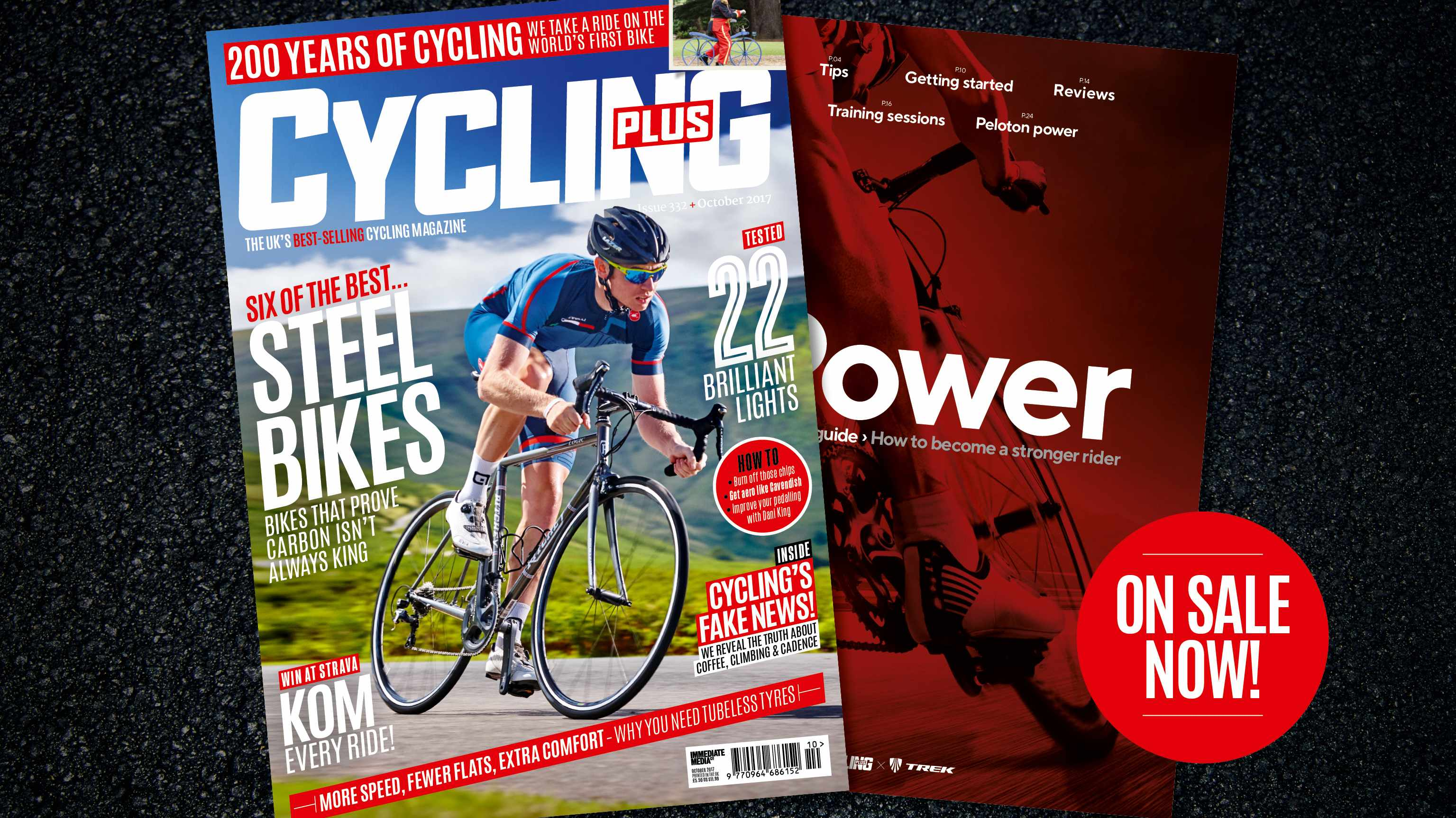 Cover of the October 2018 edition of Cycling Plus, Britain's best selling cycling magazine.