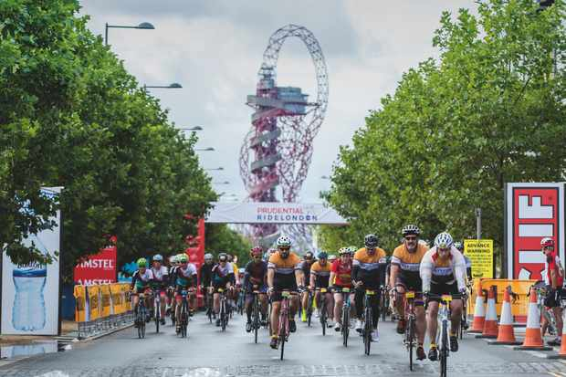 Can you ride the 100 mile Prudential RideLondon-Surrey on a