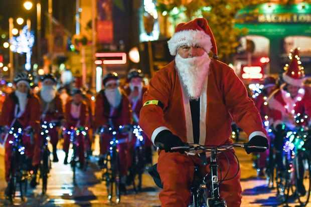 Christmas Season in Dublin