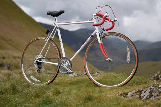 Cycling Plus editor Rob's 1983 Raleigh Sprint road bike