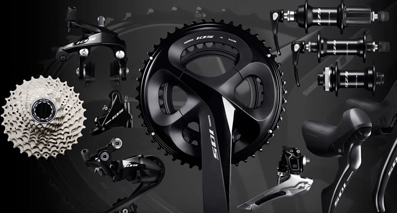 Shimano's new 105 groupset