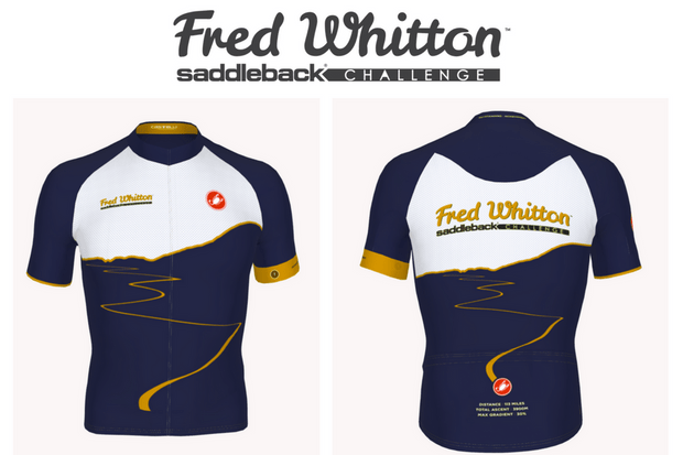 Castelli Golden Jerseys fro the Fred Whitton