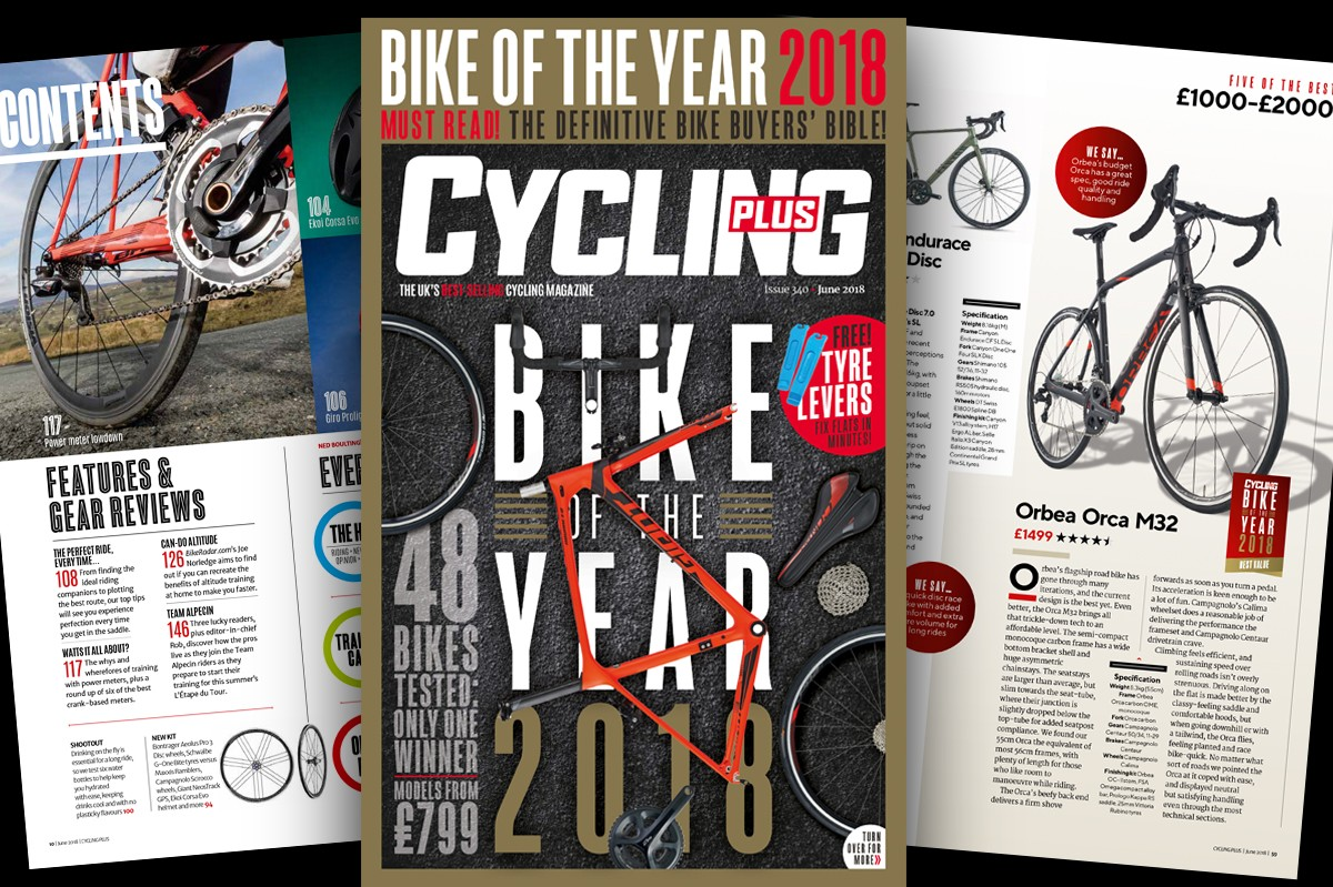 Cycling Plus issue 340 Bike of the Year