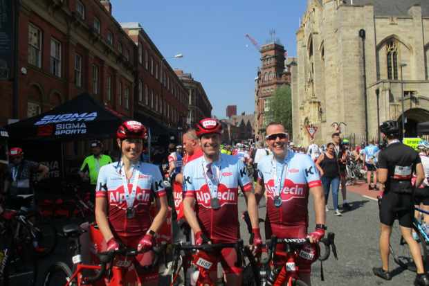 Team Alpecin GB at the Tour de Yorkshire