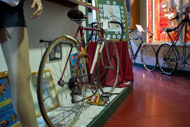 Eileen Sheridan's record breaking hercules road bike