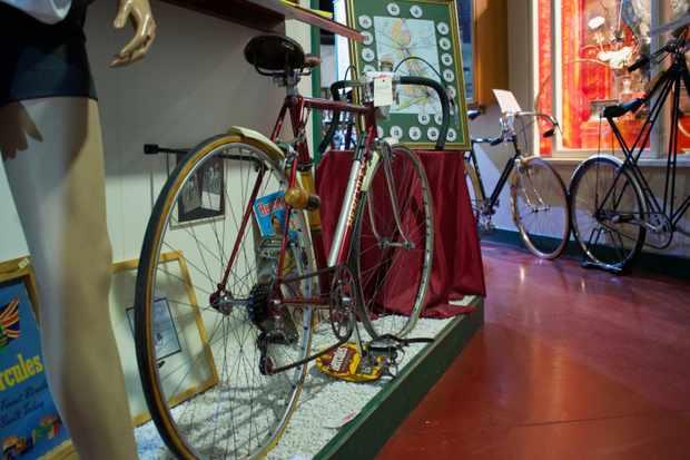 Eileen Sheridan's record breaking hercules road bike