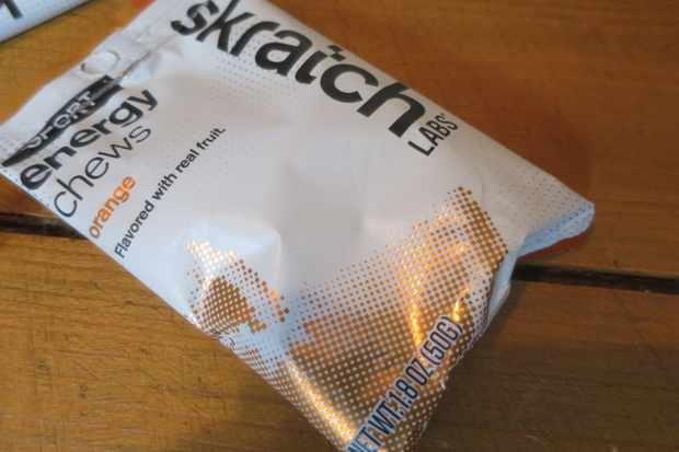 Skratch labs gummy chews are sweet and natural tasting