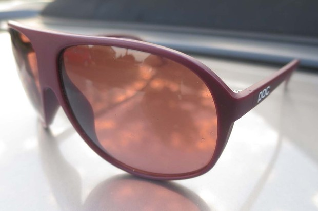 POC's whole range is inspired by the classic aviator shape