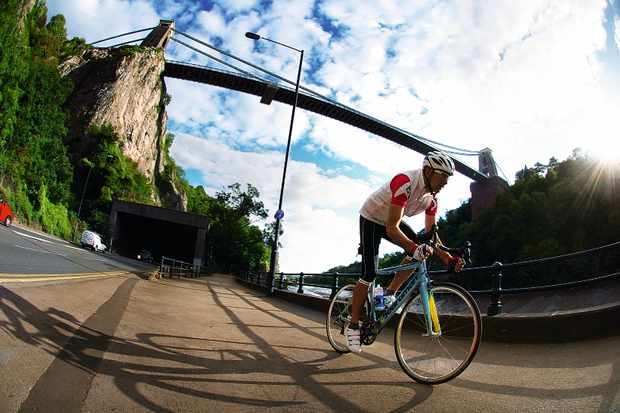 Road cycling route in South West England – 70 miles from