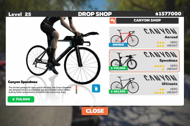 Today's payday on Zwift, too, with the launch of its new 'Drop Shop