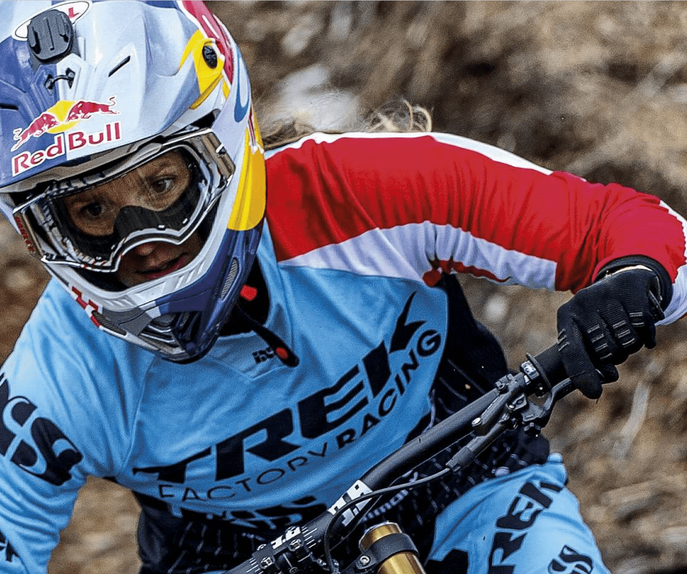 Rachel Atherton mountain biking