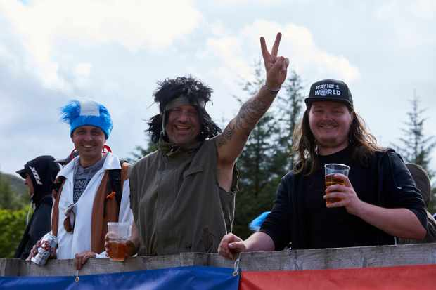 Wayne's World fans at Fort WIlliam