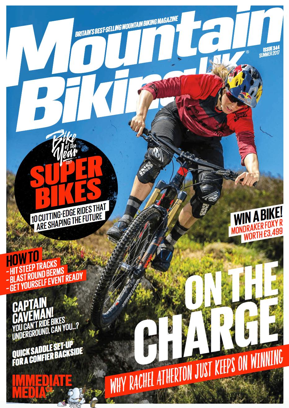Mountain Biking UK Issue 344 cover