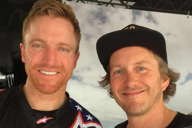 Aaron Gwin and Jimmer