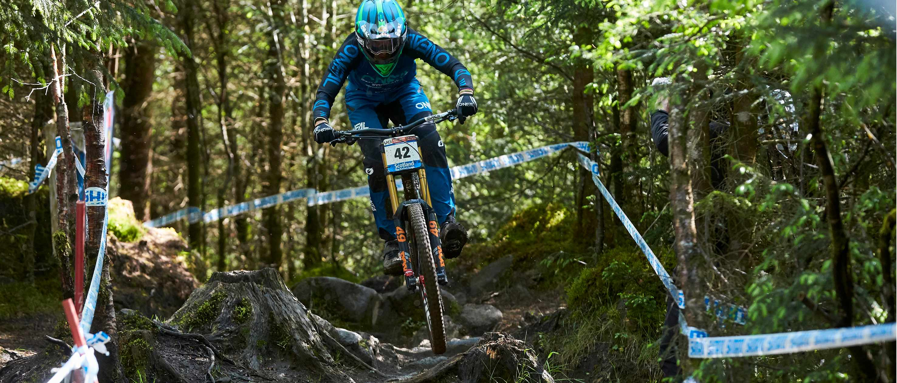 Greg Minnaar riding at Fort William