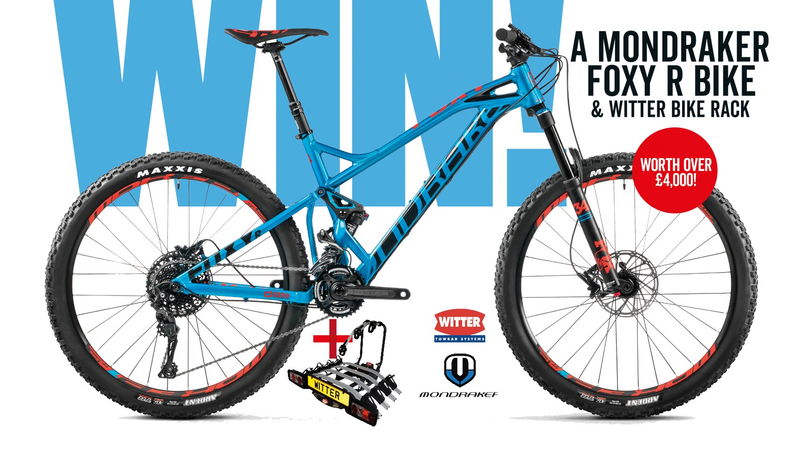 Win a Mondraker bike and bike rack