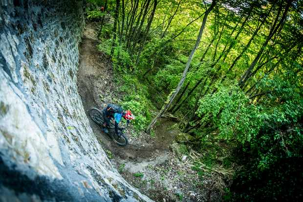 An amazing mix of terrain makes this an incredible place to ride. Credit: Santa Cruz