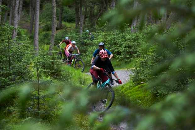 Glentress Mountain Biking