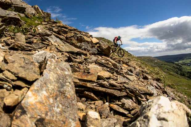Features Ed, Alex, rides the 'Ard Rock Enduro on a prototype Swarf 29er and loved every gruelling mile of trail! Credit: Mick Kirkman