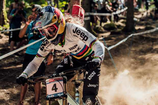 Rachel Atherton has had a season plagued by a shoulder dislocation at Fort William – will she redeem herself and win this weekend?