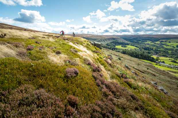 Max Darkins and Phil Thurlow ride the North York Moors for MBUK's Big Ride