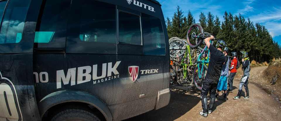 bikepark wales uplift van