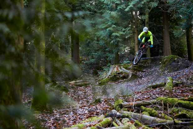 Olly Morris riding at The Forest of Dean
