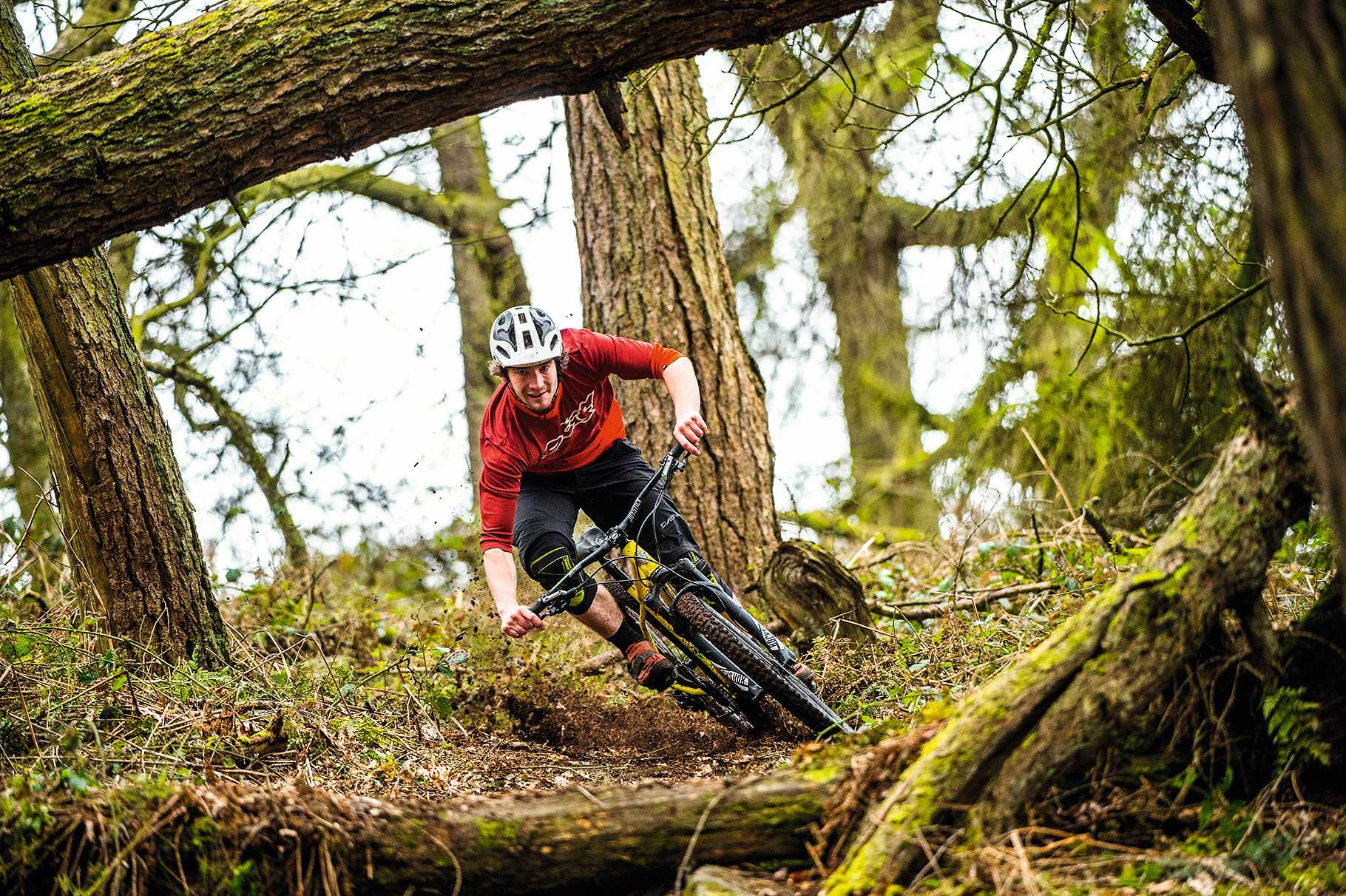 Riding the Stif Cycles Morf hardtail hard