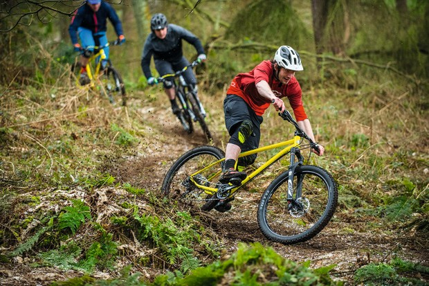 Getting lairy on the Stif Cycles Morf hardtail