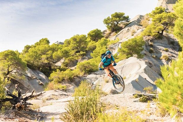 The best mountain bike trails near the French and Italian