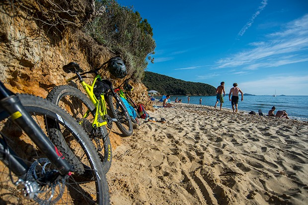 Mountain Biking UK Punta Ala, Tuscany, Italy PIC Andy Lloyd www.andylloyd.photography