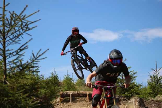 Blackadder at BikePark Wales