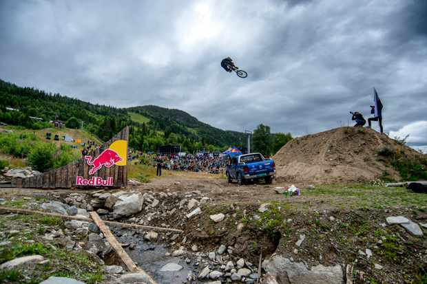 MBUK Staff Writer Ed hits a Fest Series jump in Norway