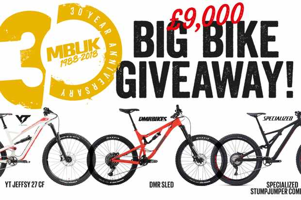 Get your chance to win big, by entering our Big Bike Giveaway
