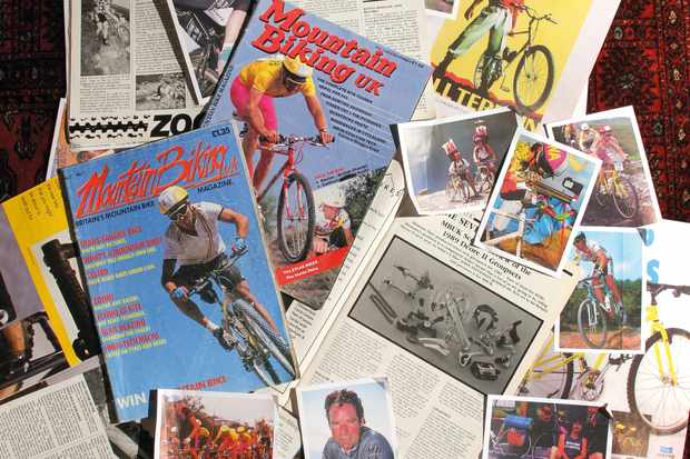 Copies of MBUK magazine from the 1980s