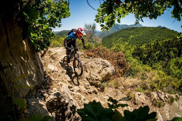 Santa Cruz and Juliana Bicycles, Nomad and Strega launch. Sospel, France to Molini di Triora, Italy.