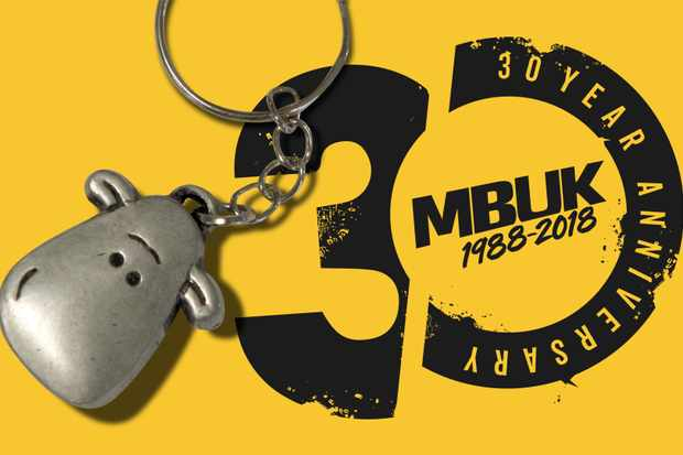 Limited edition Mint Sauce keyring- free with every issue!
