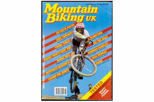 Jason McRoy styles it up on the cover of MBUK 1991