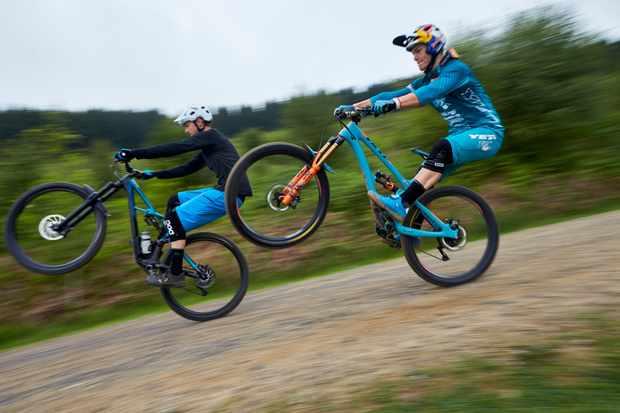 MBUK and Richie Rude at BikePark Wales