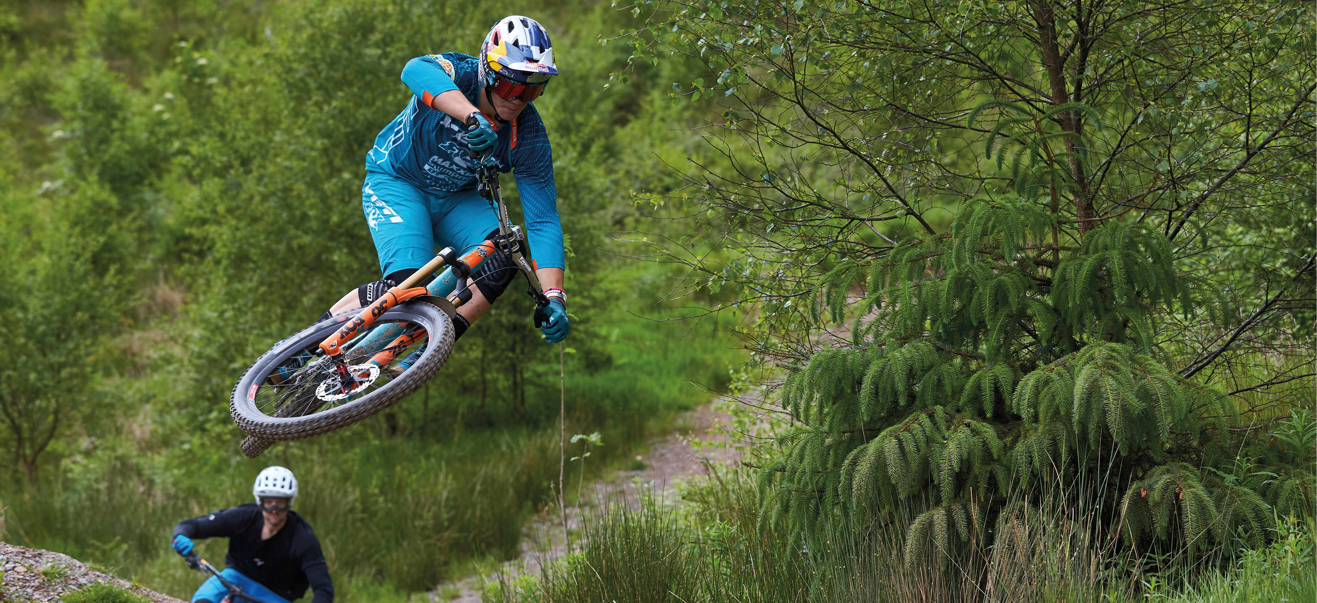 ,during the Leogang UCI MTB World Cup DH round three.
