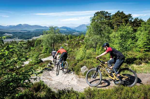 We ride with The Dudes of Hazzard at Laggan Wolftrax up in the Scottish highlands
