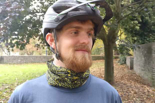 Keep the cold off, and the smile on your face with our neck tube. Photo MBUK