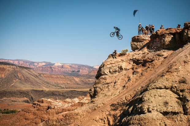 We shoe you our favorite highlights of the 2018 Red Bull Rampage. Photo: Red Bull Content Pool